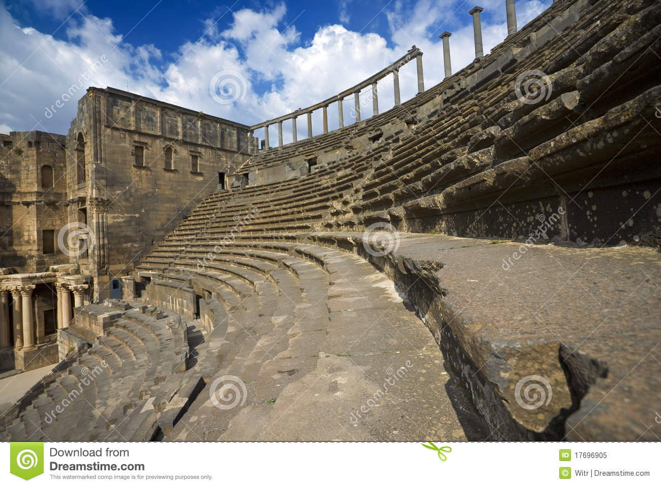 Das Theater in Bosra