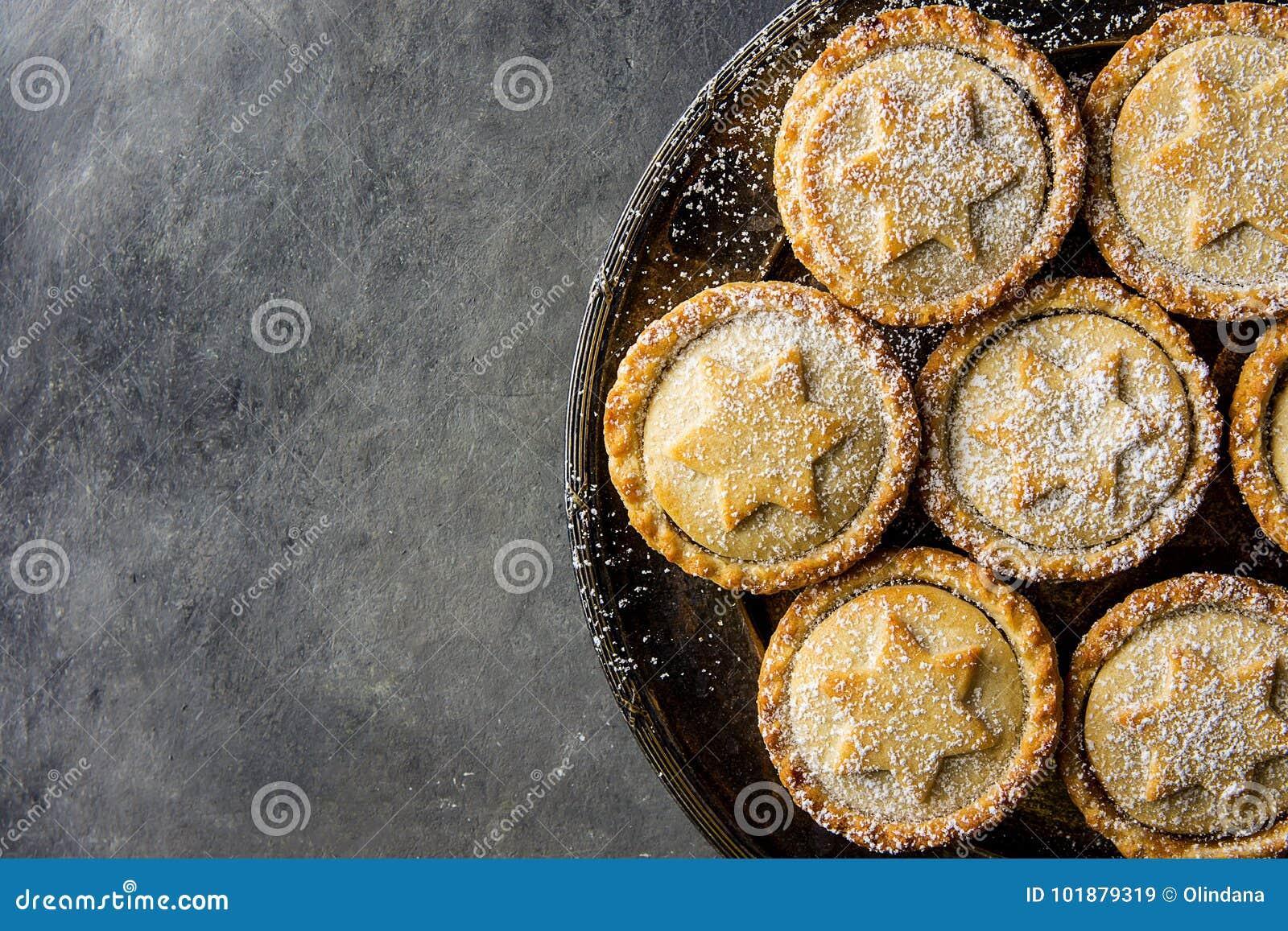 Weihnachtsgebäck Mit Rosinen.Das Traditionelle Britische Weihnachtsgebäck Nachtisch Haus Das