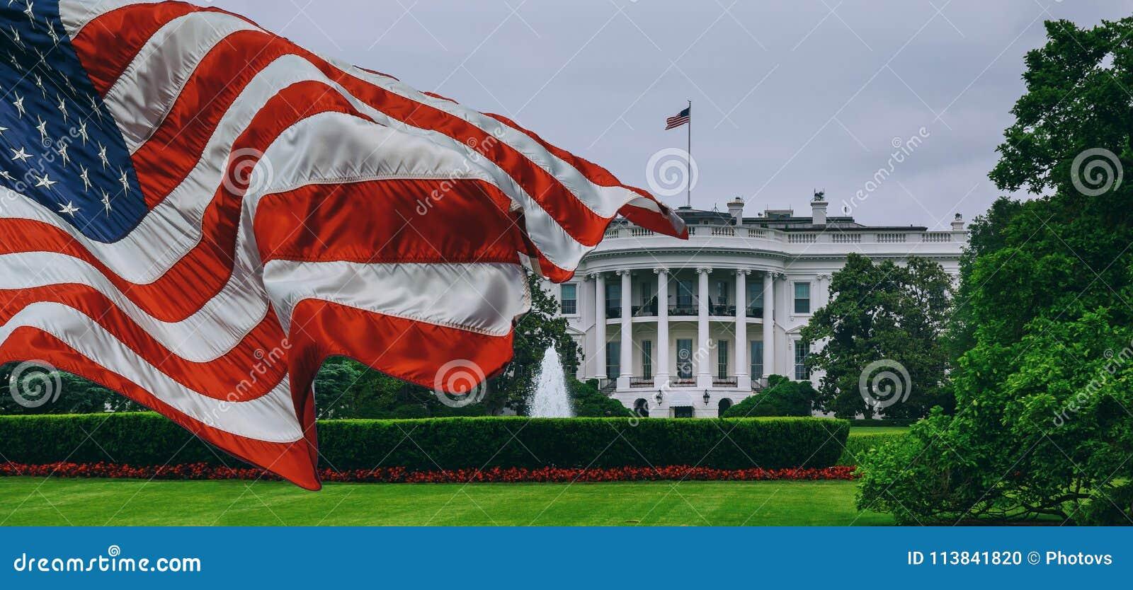 Das weiße haus- Washington DC Vereinigte Staaten