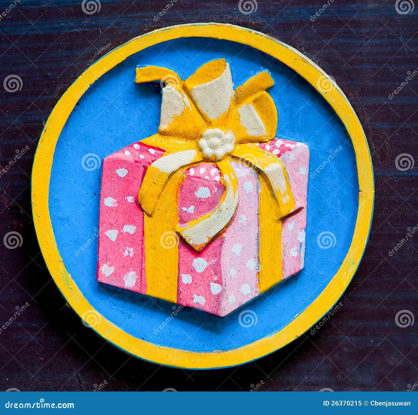 Das Zeichen des Geschenkkastens
