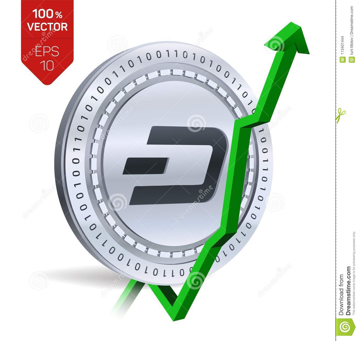 why is dash coin going up