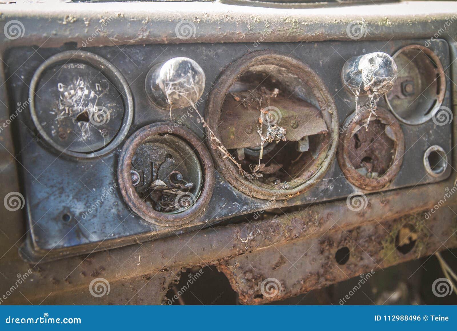 Dashboard of an car