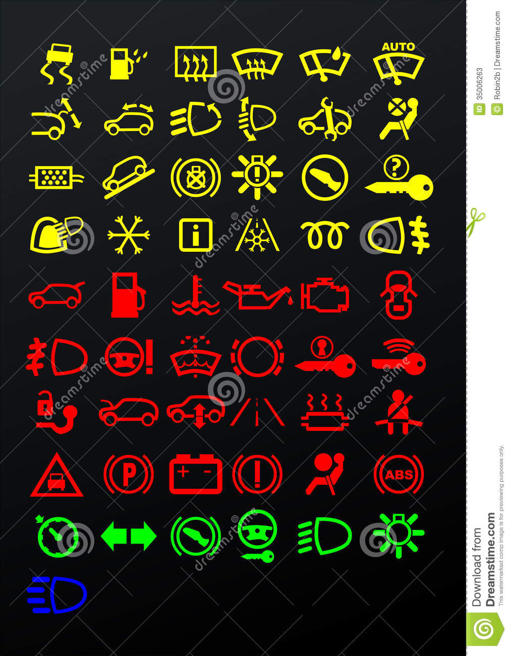 Dashboard Icons Stock Vector Illustration Of Dashboard 35006263