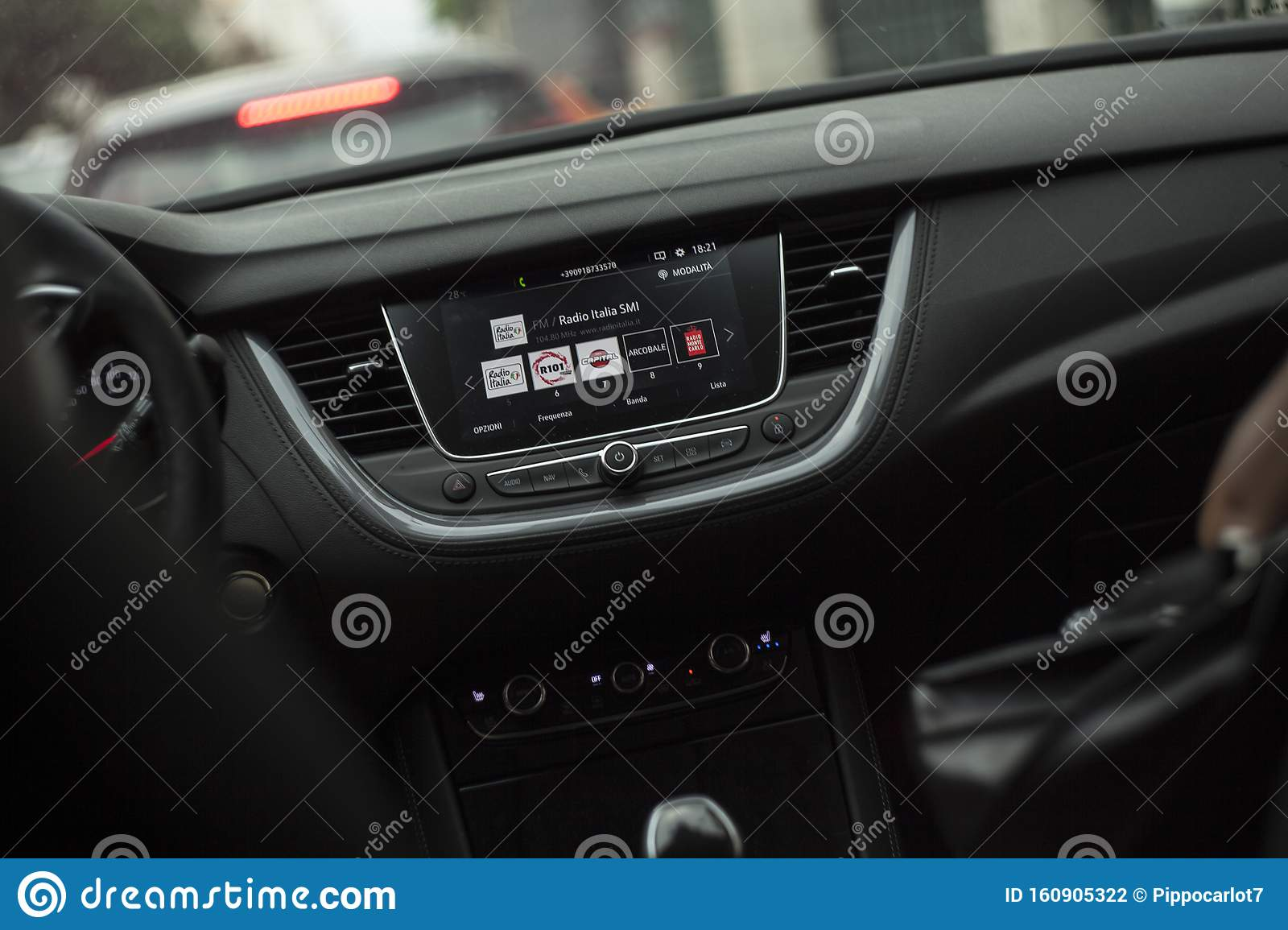 Dashboard Of A Modern Car Editorial Photography Image Of Engine 160905322