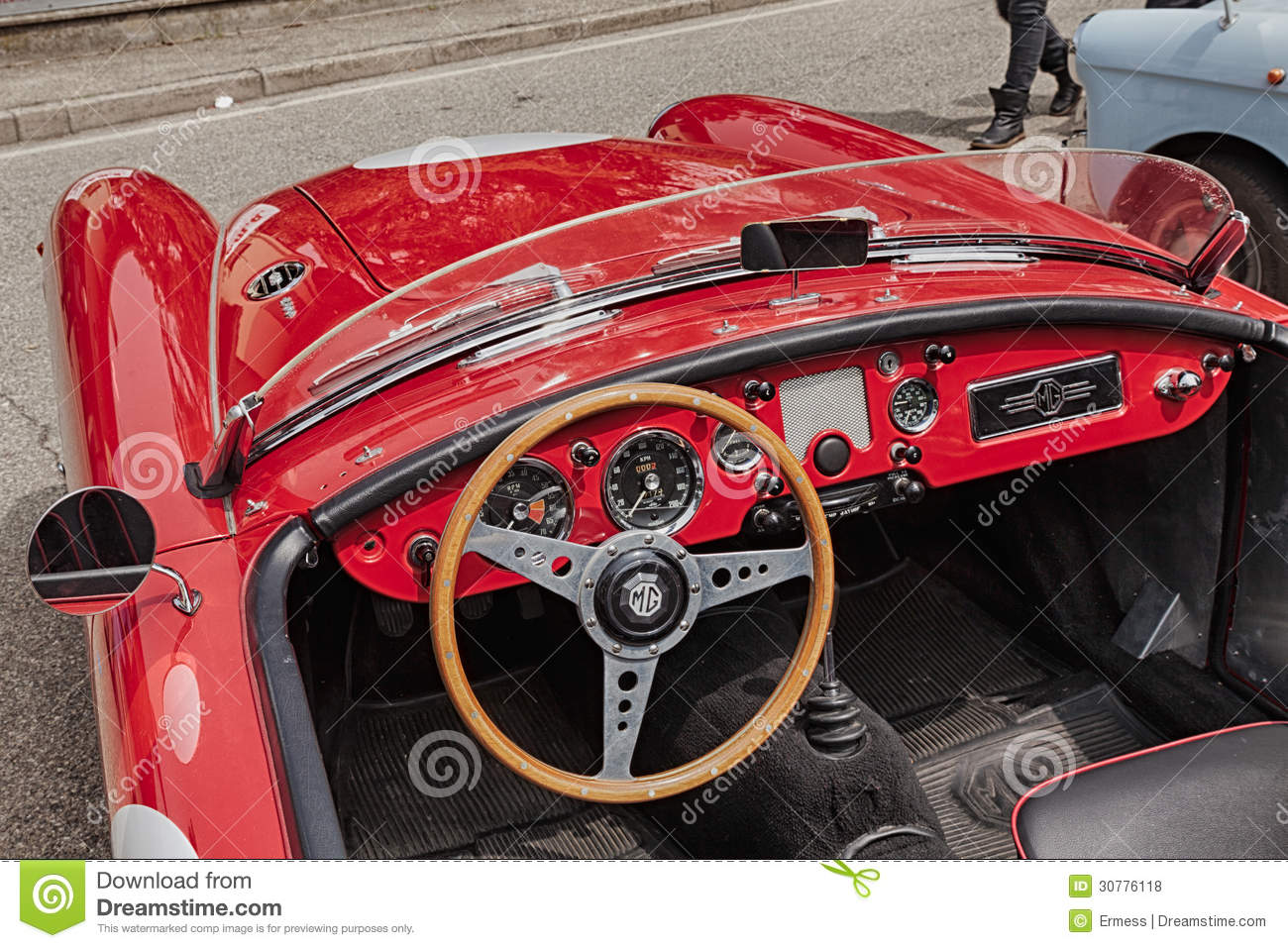 dashboard of an old racing car editorial stock photo image 30776118. Black Bedroom Furniture Sets. Home Design Ideas