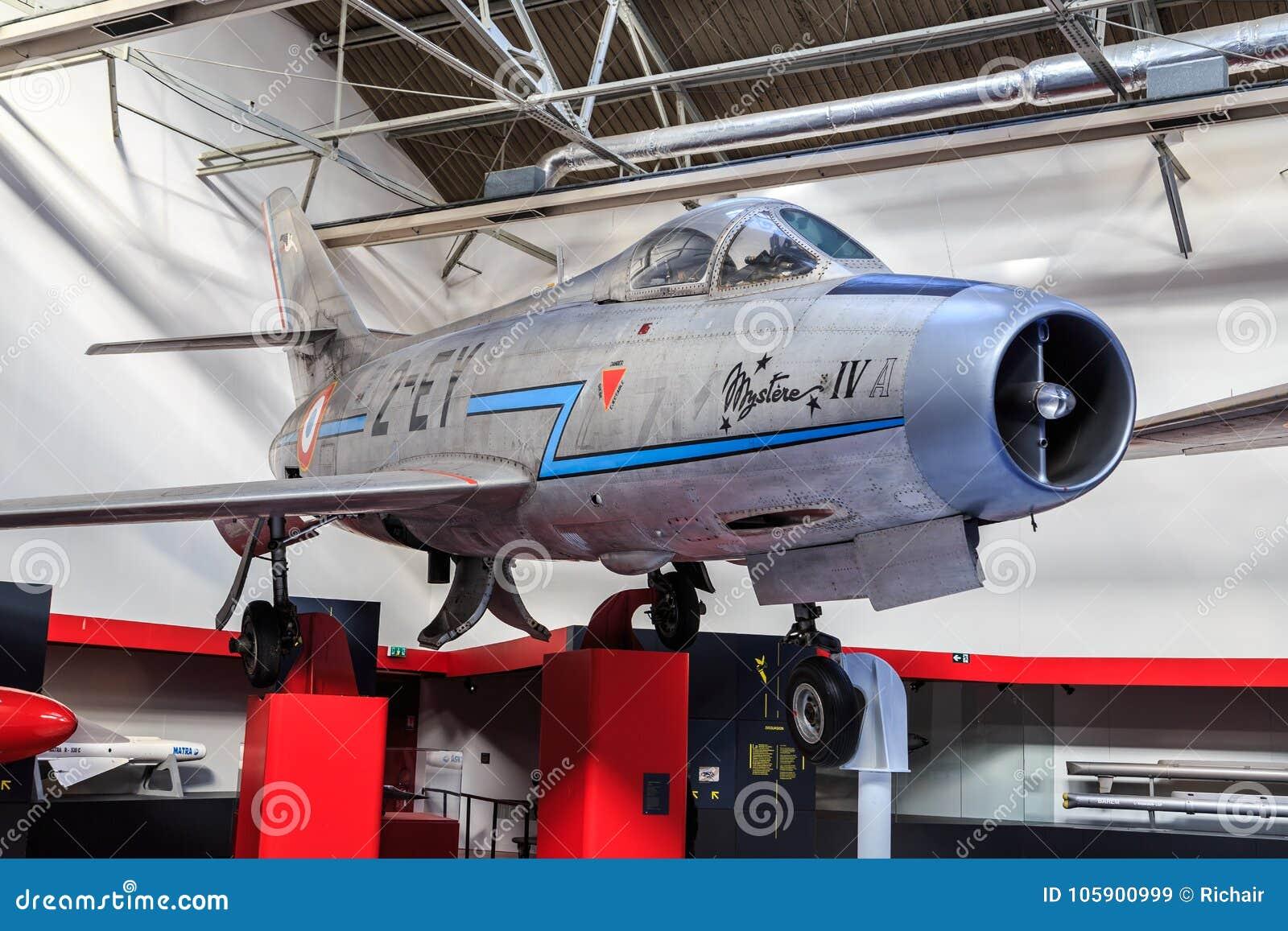 Dassault Mystère IV dans le musée
