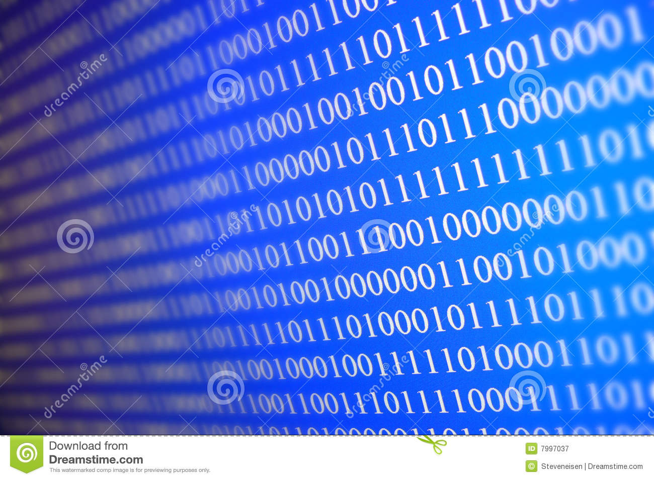 Unlimited Data Plans >> Data stock image. Image of networks, zeros, ones, monitor - 7997037