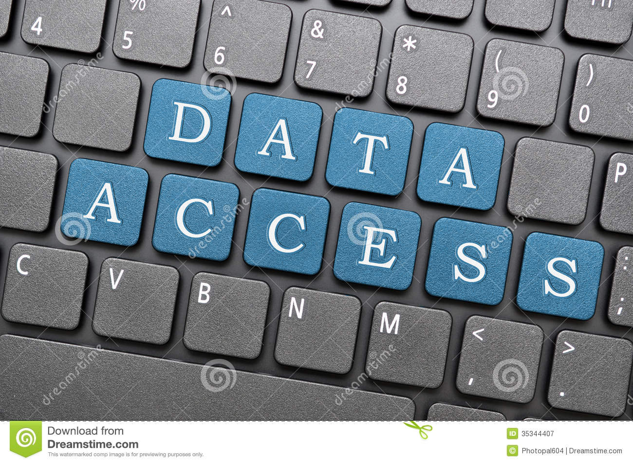 Data Access Royalty Free Stock Photography Image 35344407