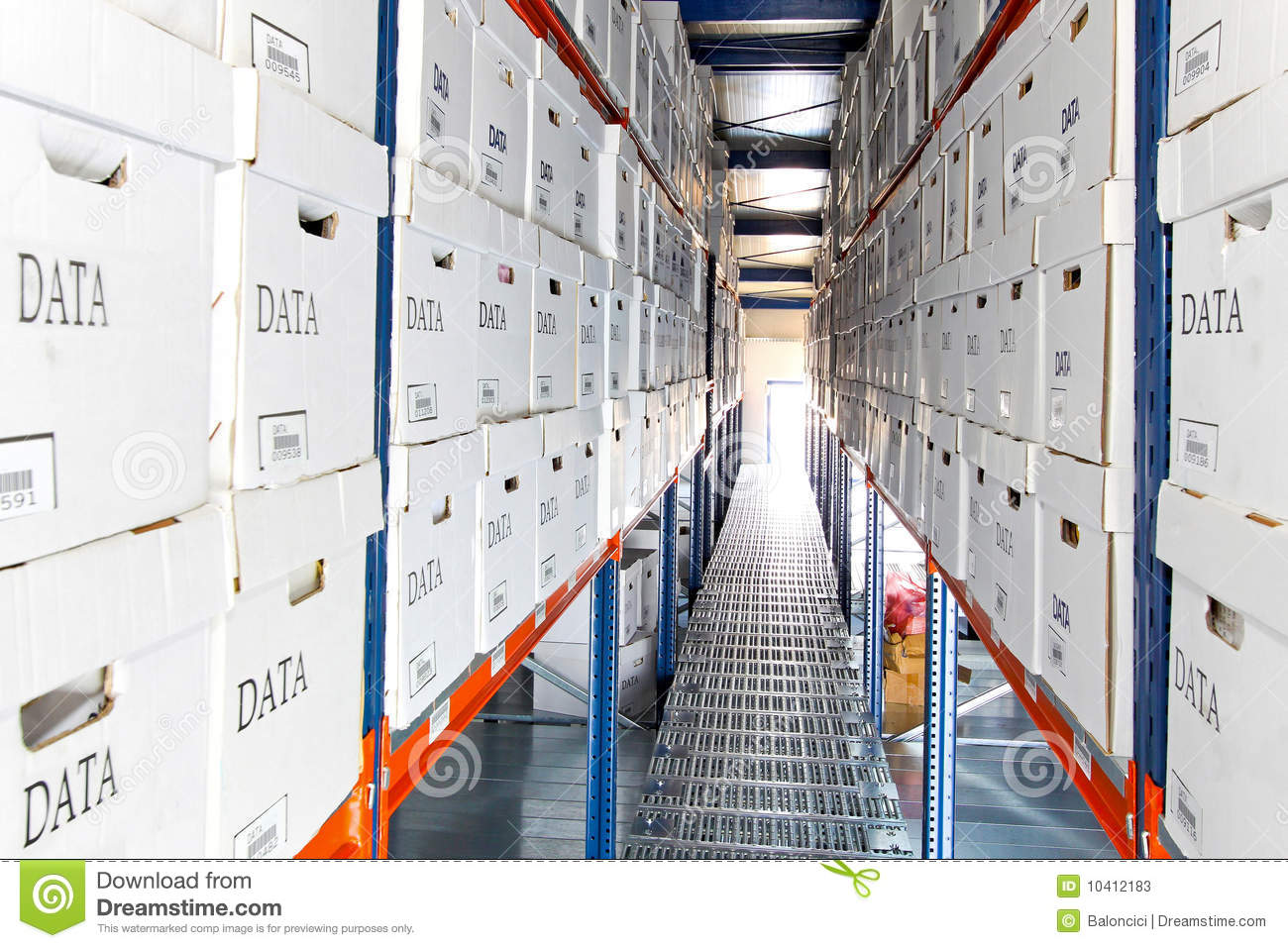 Data boxes rows