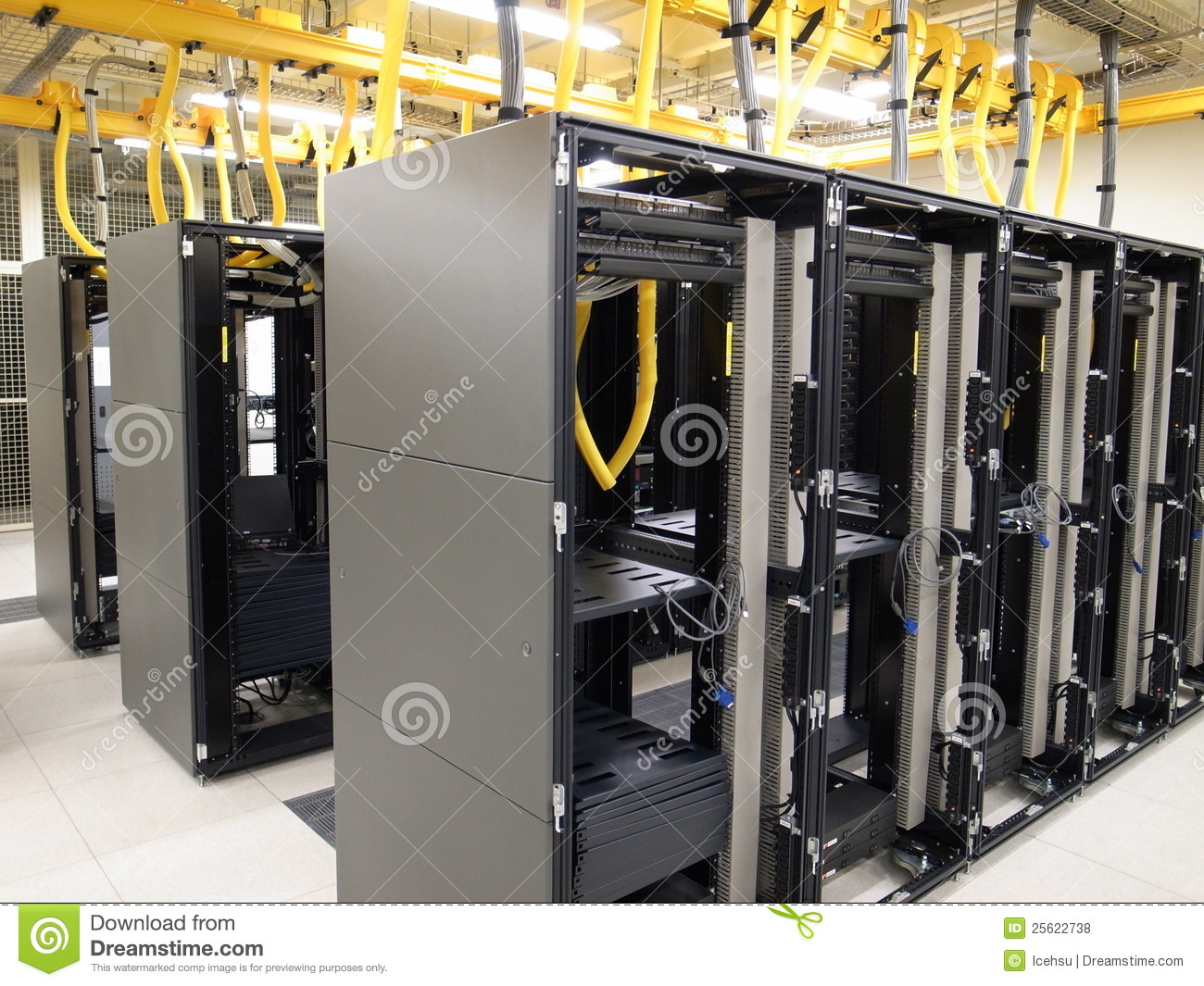 Data center rack and stacks royalty free stock photos for Data center setup