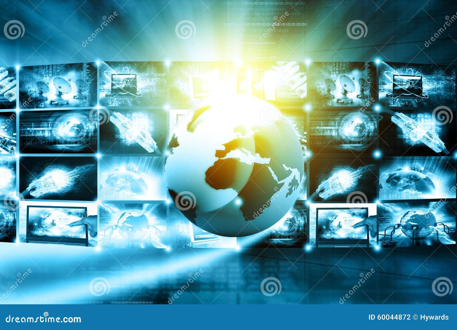 Time Management And Technology: Data Management Technology Stock Illustration
