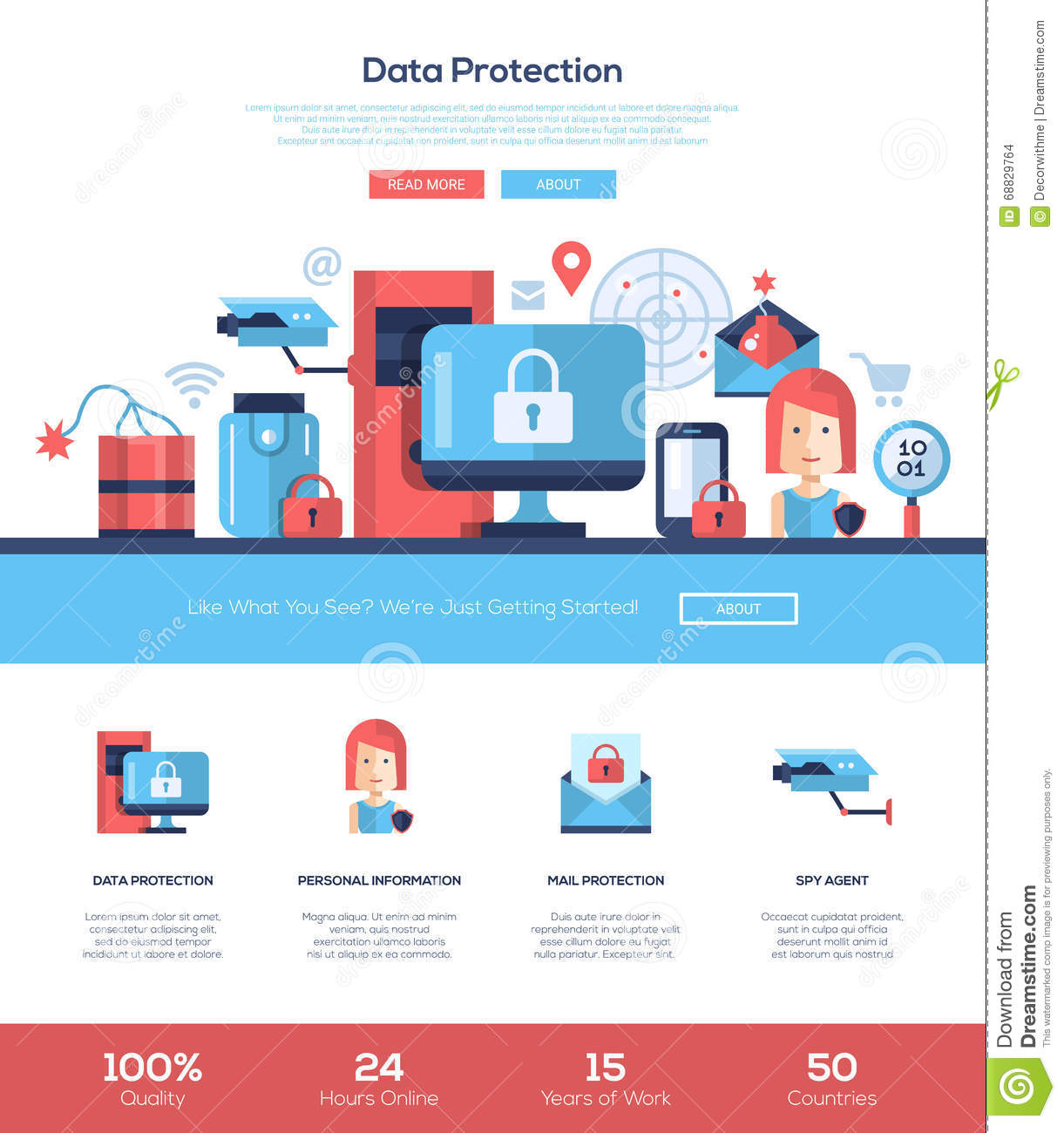 Free Website Privacy Policy Template GDPR Compliant Visualbrainsinfo - Free online privacy policy template