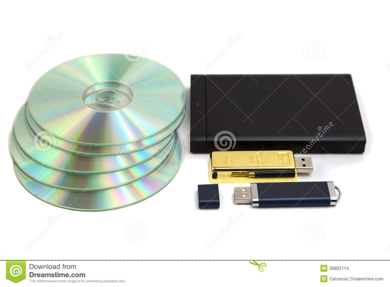 Data Storage Device Stock Photo - Image: 39802114