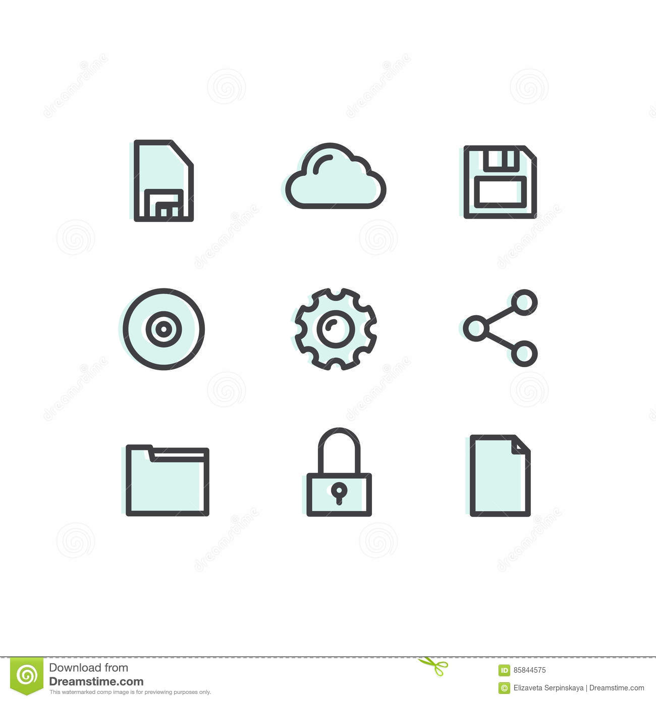Data Technology Mobile And Internet Tools Devices Network