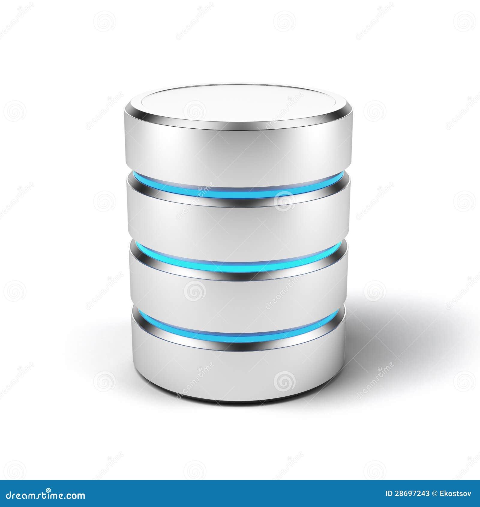 Database Icon Stock Image - Image: 12265971