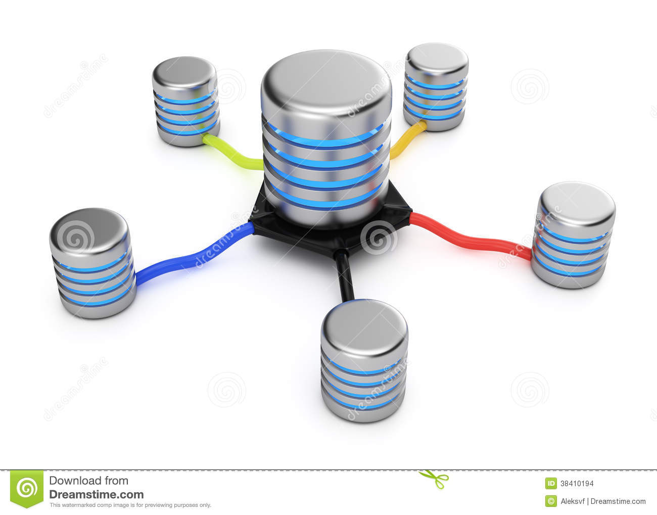 how to connect database to web server