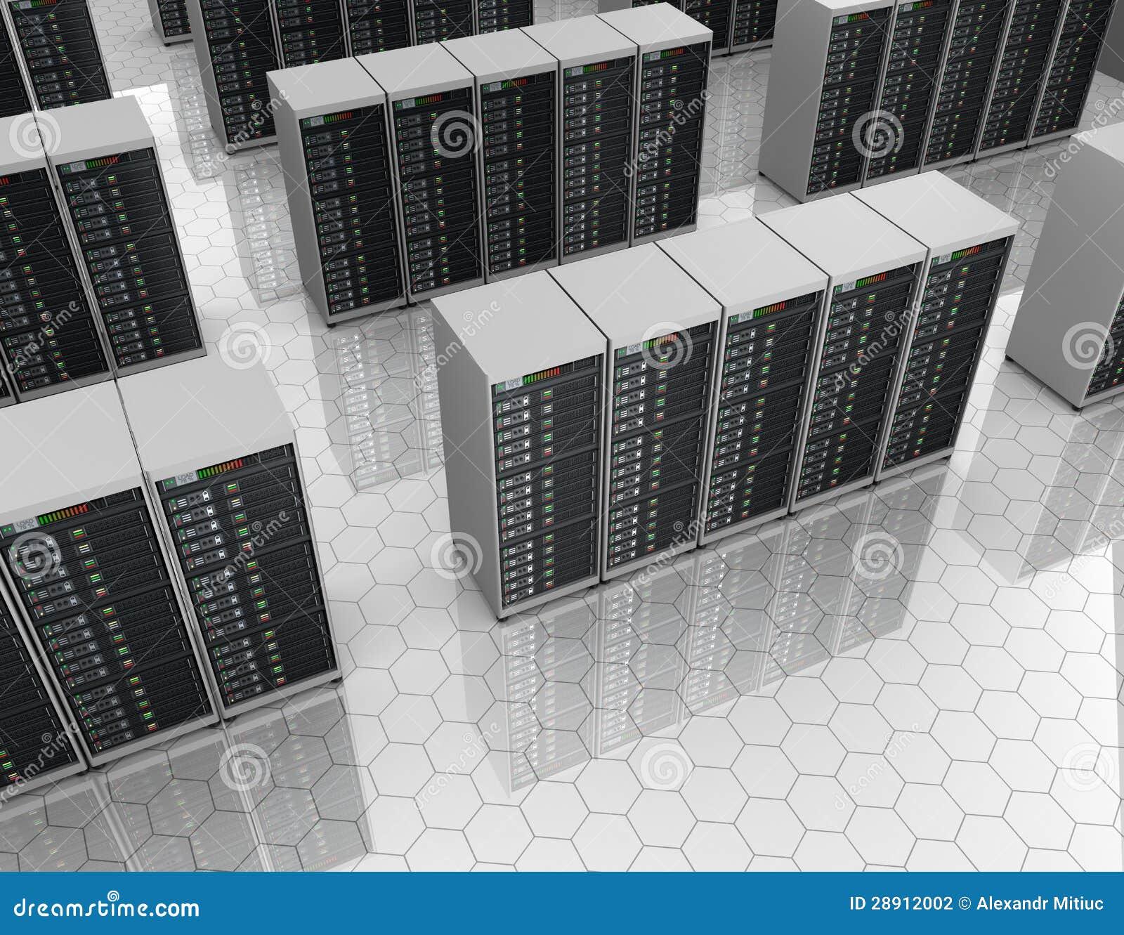 Datacenter : 有服务器集群的服务器空间