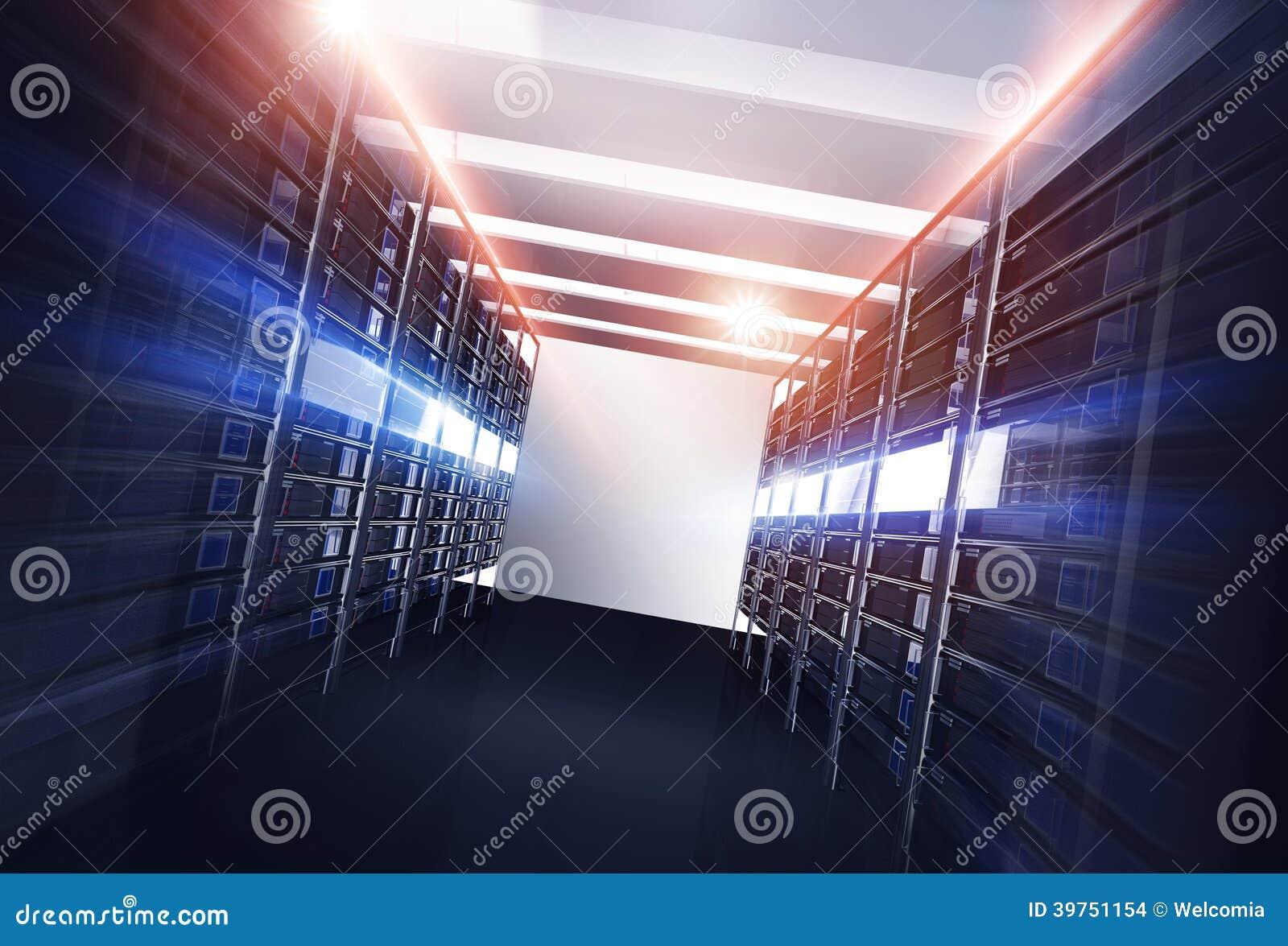 Datacenter Servers Alley