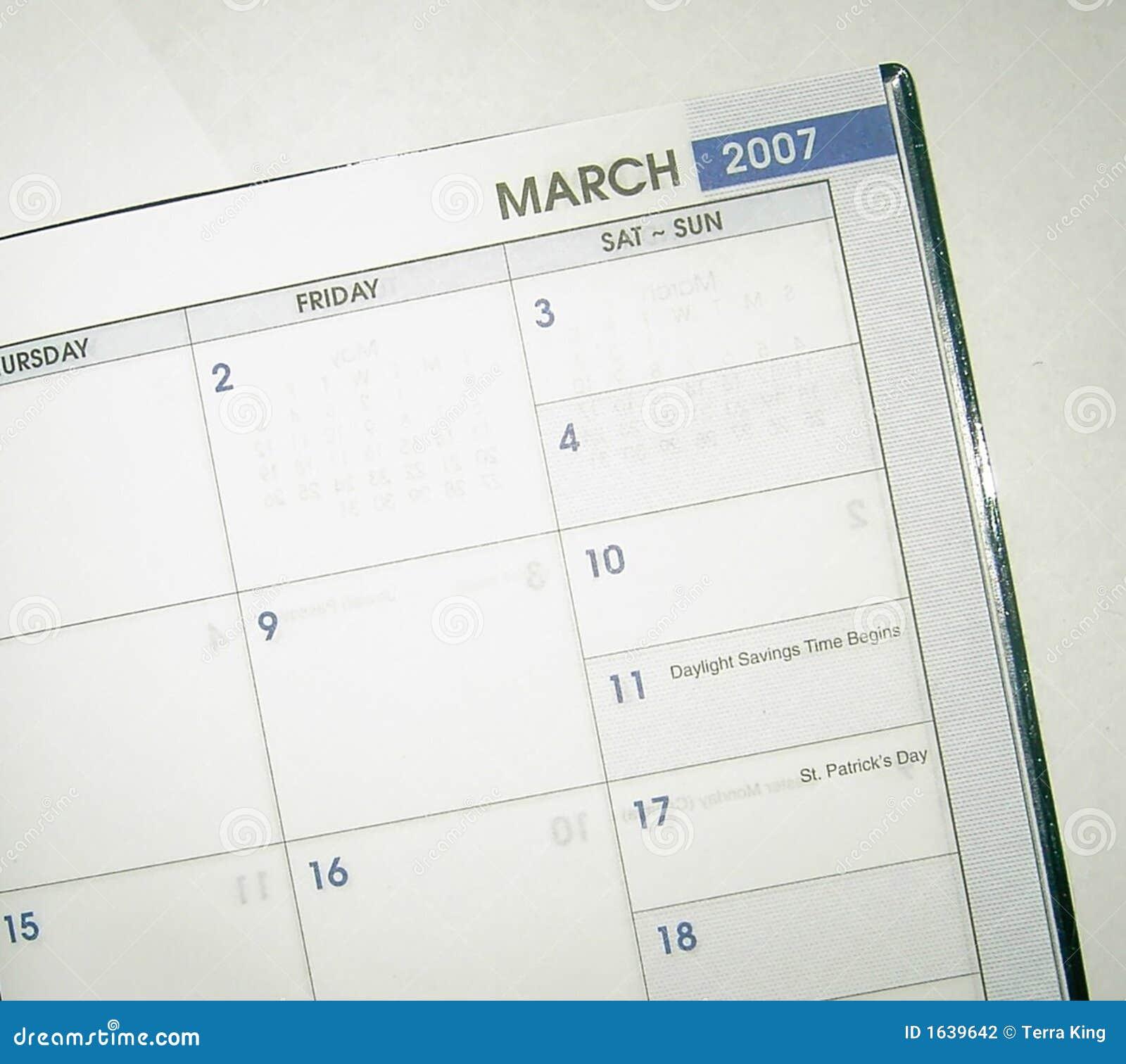 Date book March 2007
