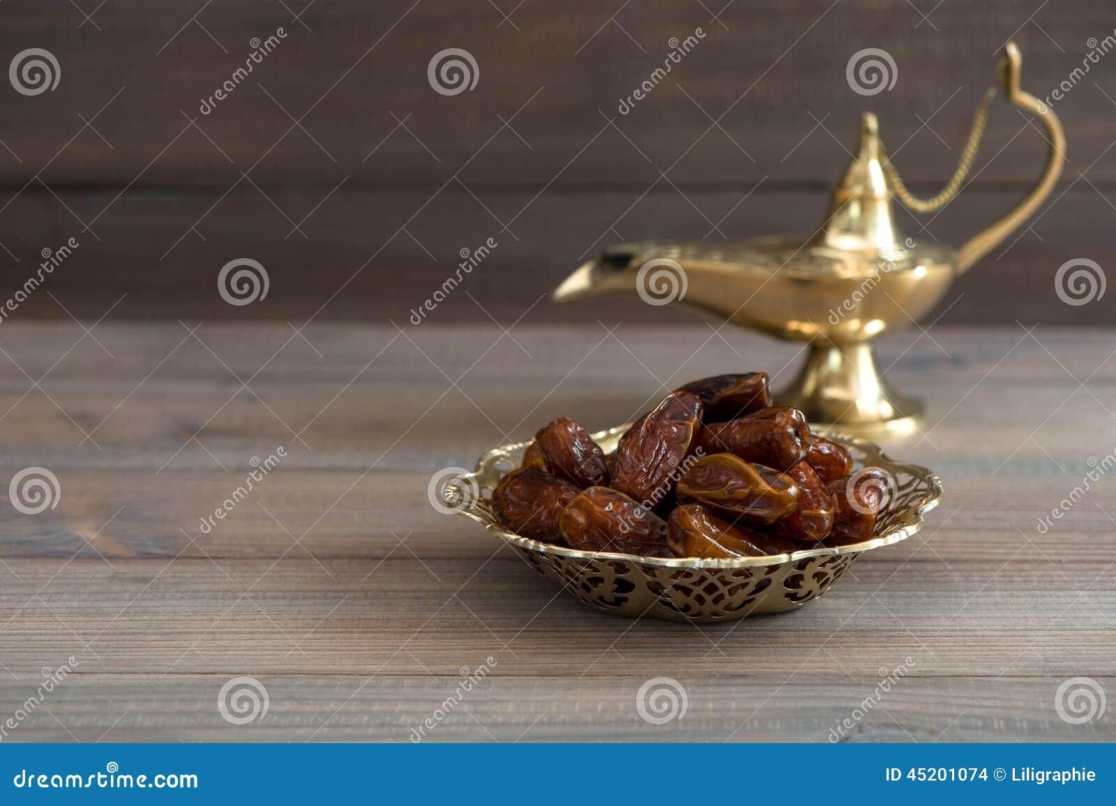 Daten in der goldenen Schüssel und in der arabischen Lampe