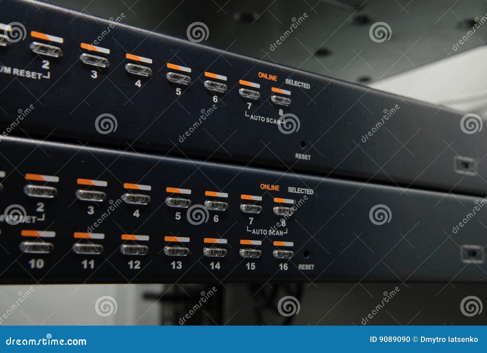 Daten-Mitte Ausrüstung