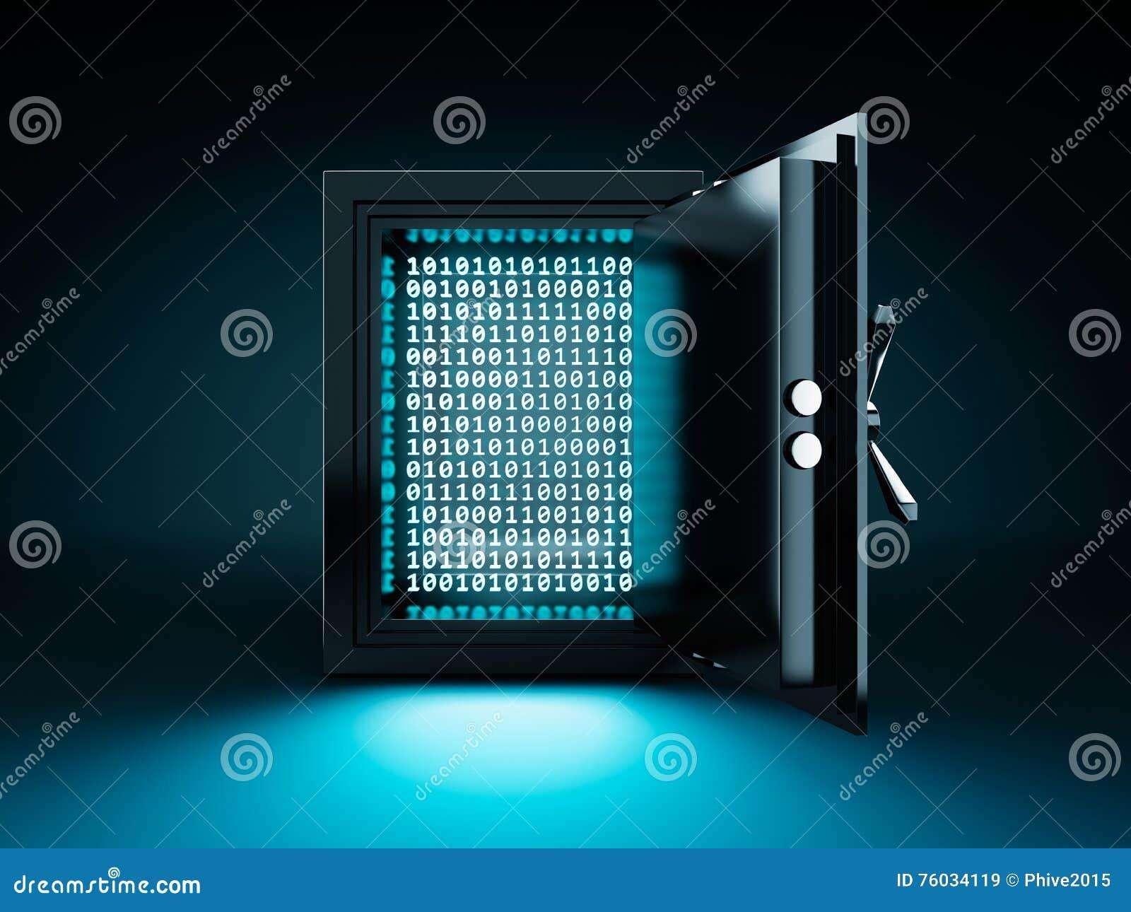 Daten-Safe-Kasten