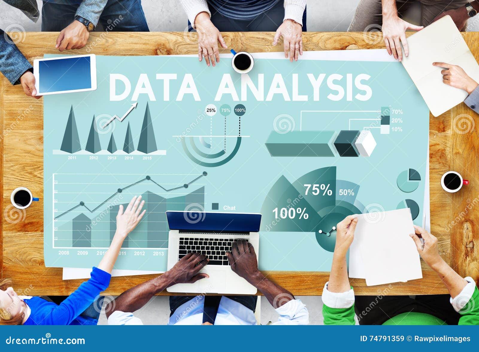 Datenanalyse-Marketing-Geschäftsbericht-Konzept