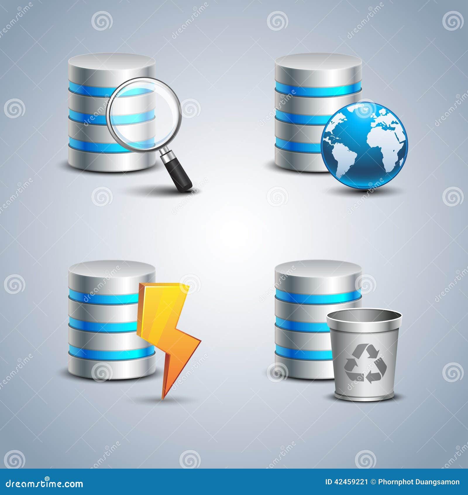 Datenbank-Ikone eingestellt # 3