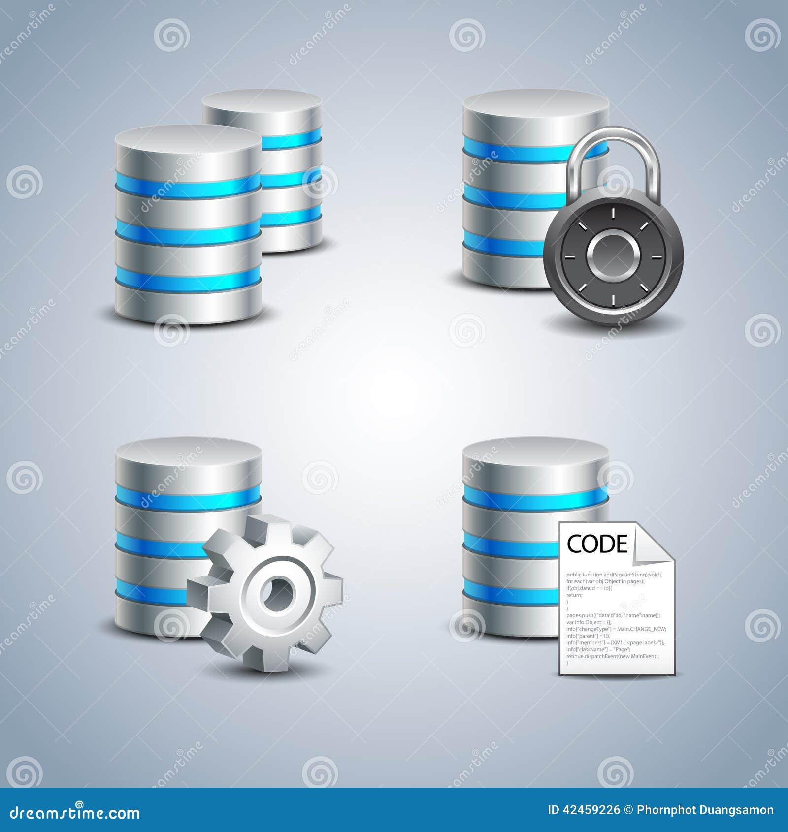 Datenbank-Ikone eingestellt # 1