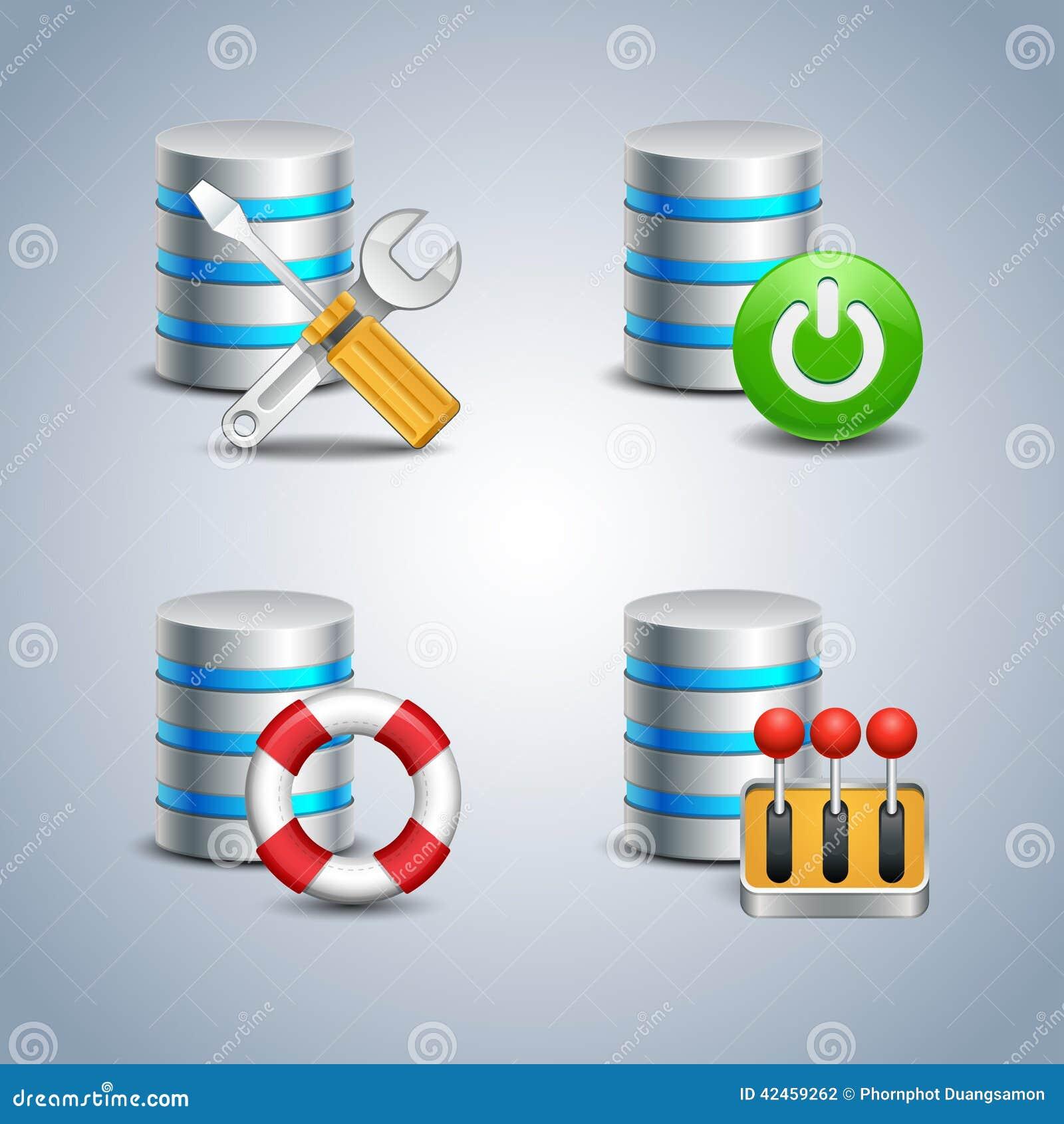 Datenbank-Ikone eingestellt # 6