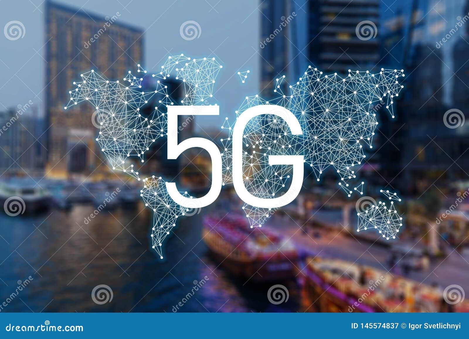 Dati mobili della rete 5g