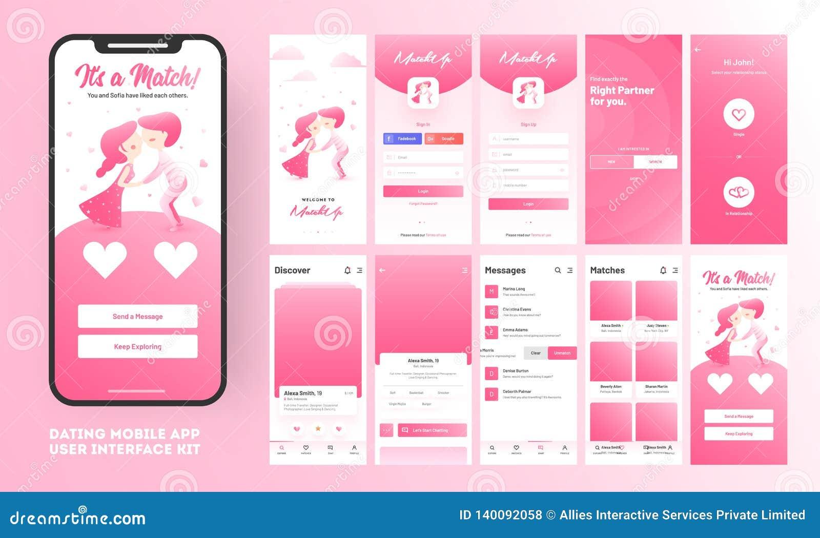 match dating mobil app
