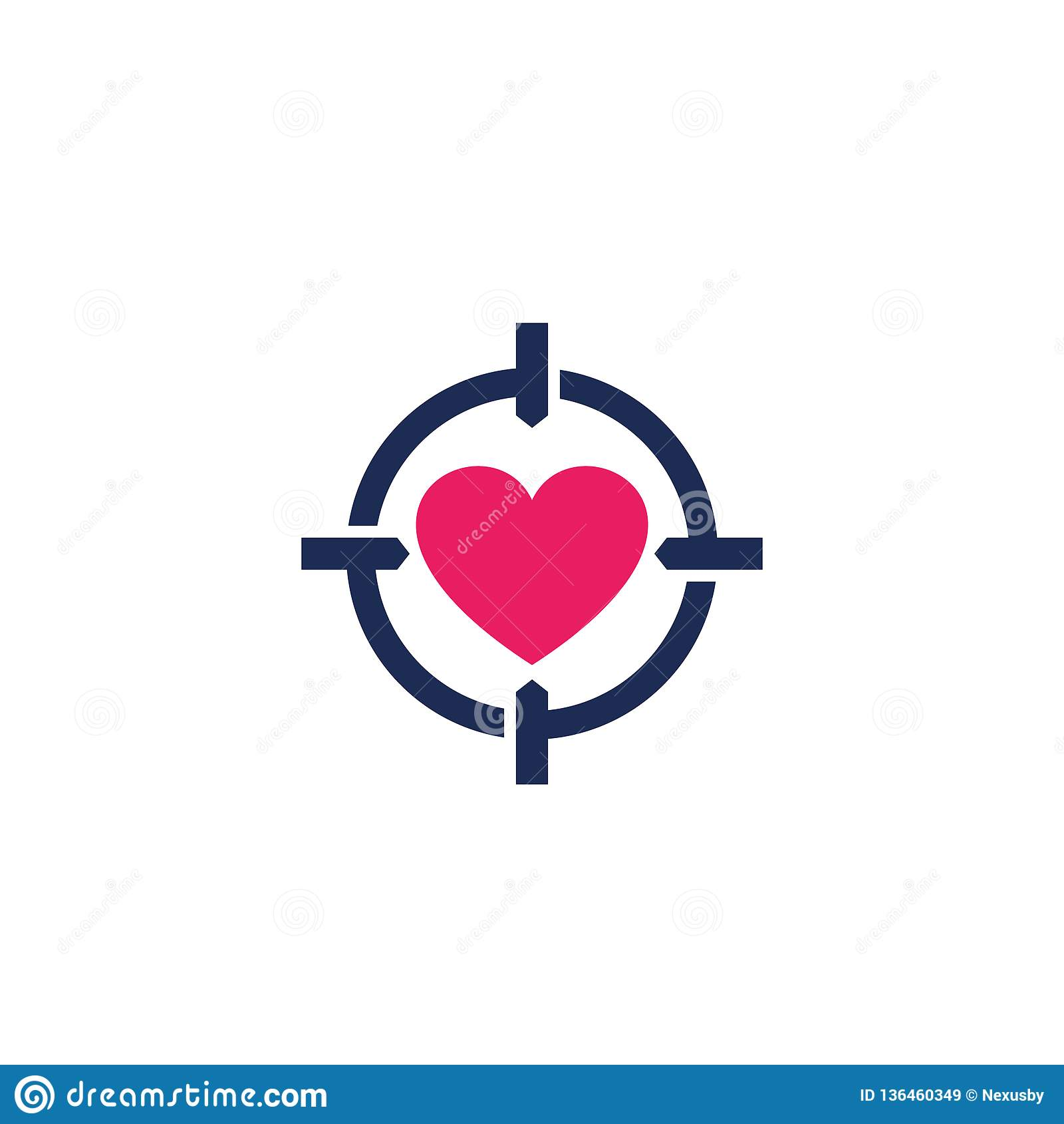 Dating Logo-Vektor
