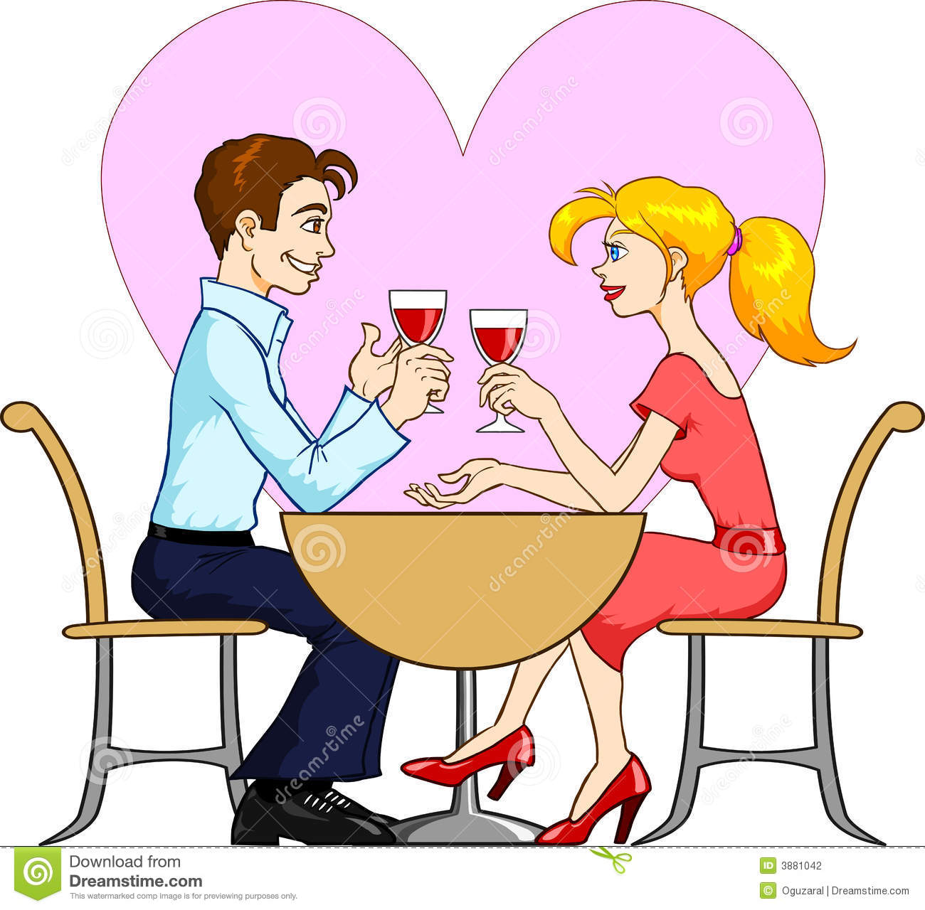 Free dating clipart