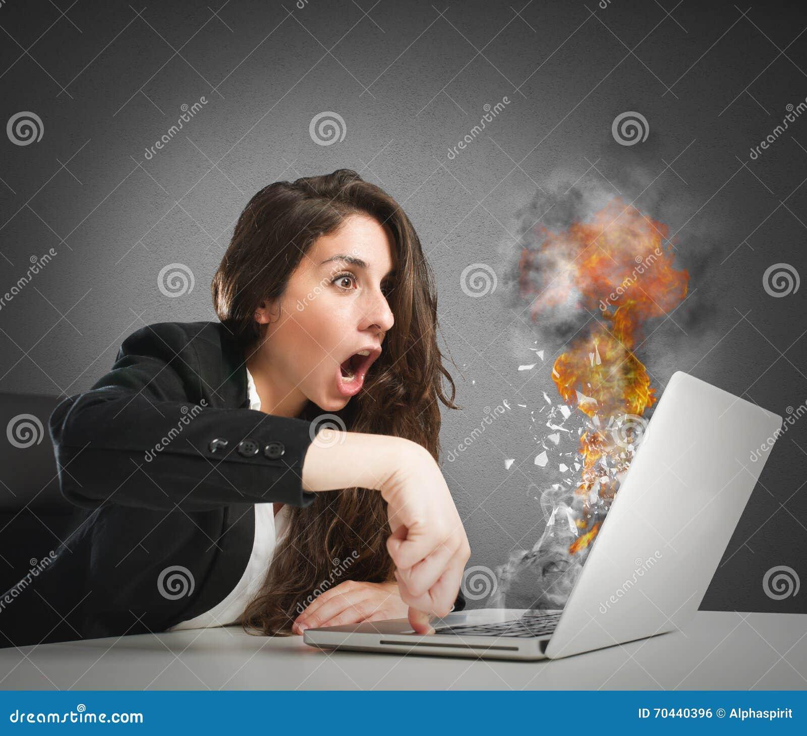 Datorarbetsöverbelastning