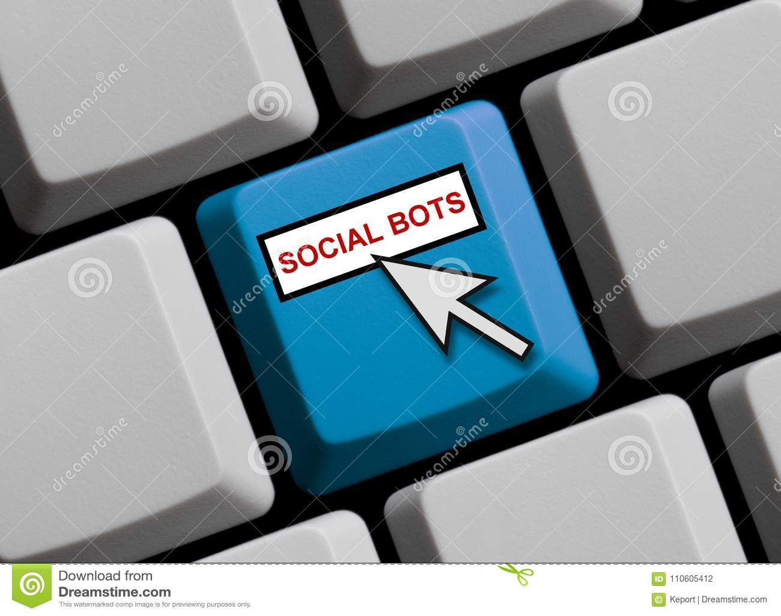 Datortangentbord: Sociala Bots