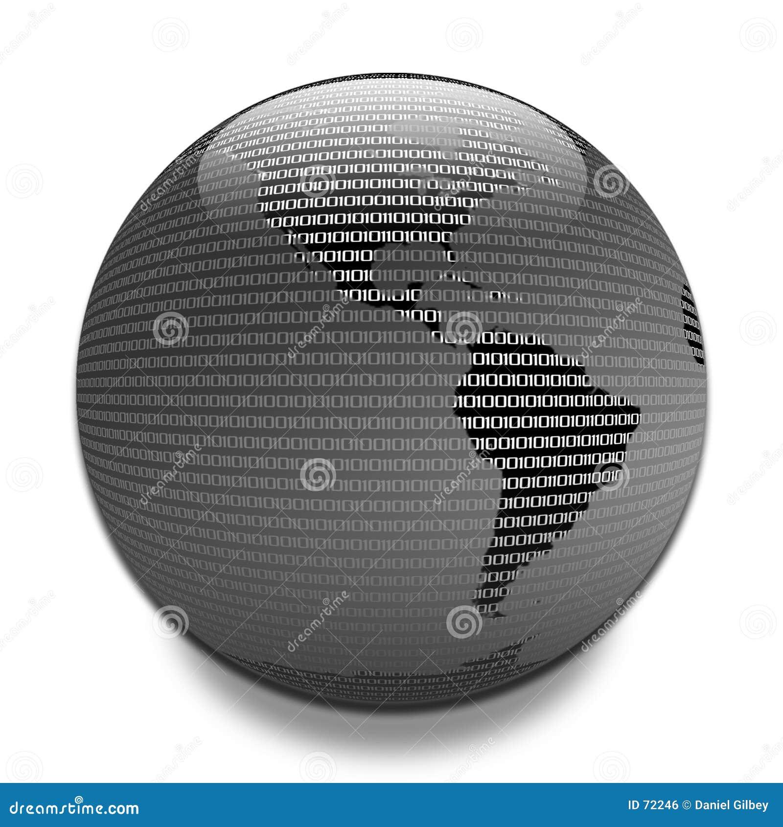 Datos a través del globo