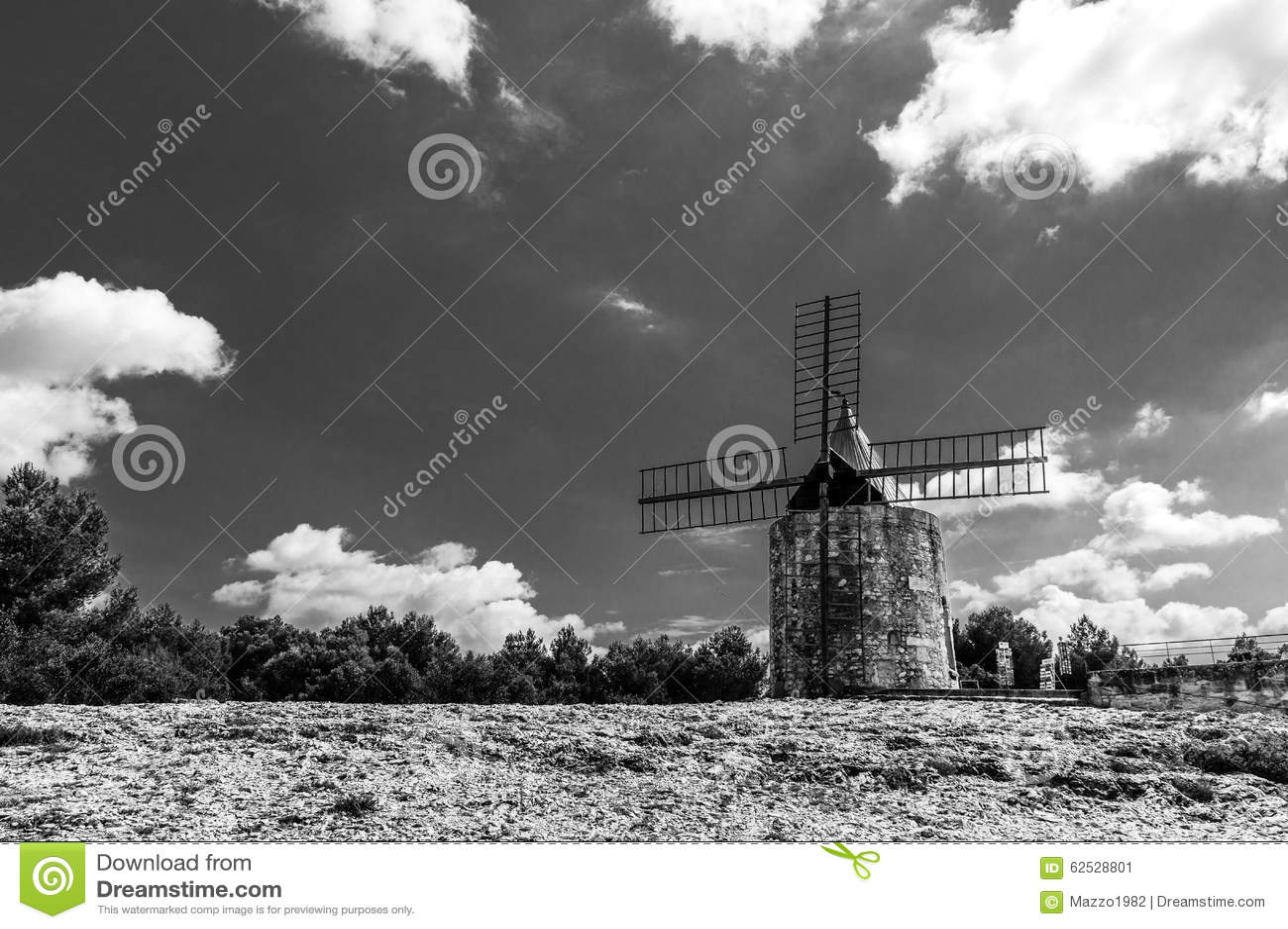Daudet的风车- Fontvielle (法国)