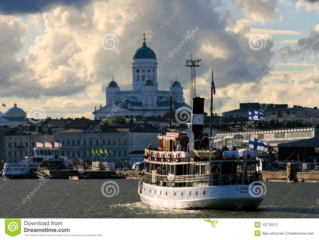 Tourist View Of Helsinki, Finland Editorial Image ...