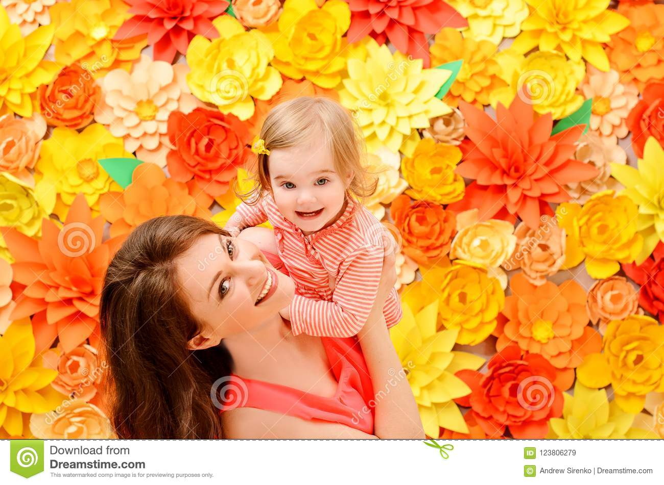 daughter at the hands of the mother