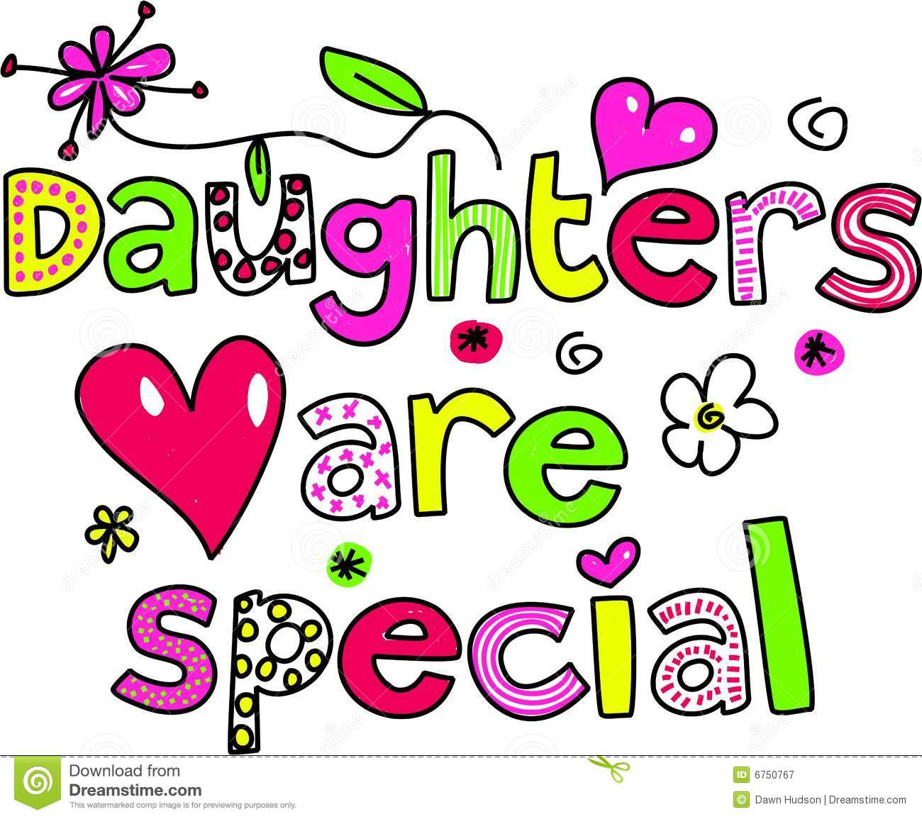 Daughters Are Special Royalty Free Stock Photography ...