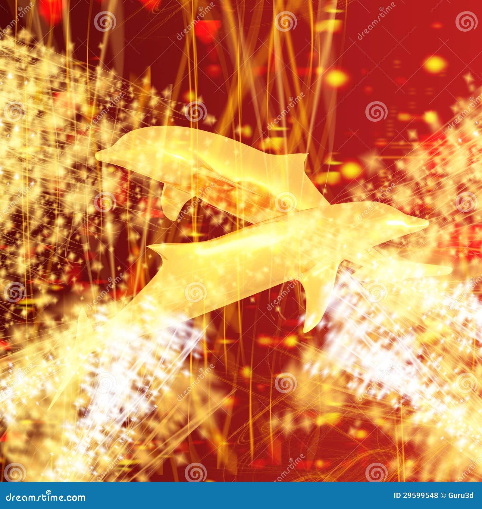 Dauphin d or - un symbole de l amour et de la dévotion