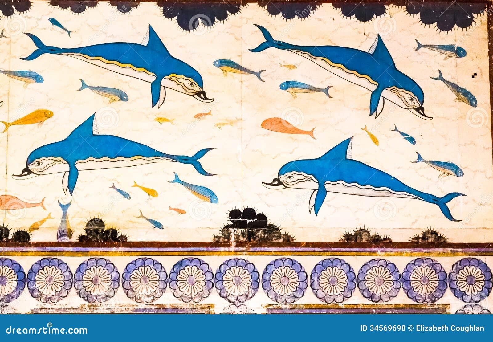 Dauphins de Knossos