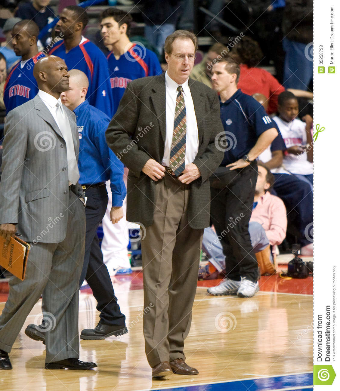 Dave Cowens Of The Detroit Pistons