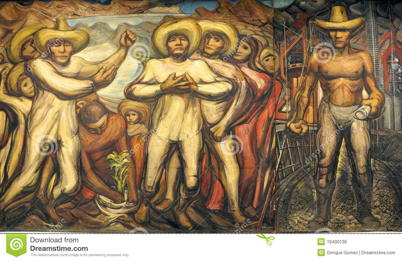 David alfaro siqueiros editorial photo image 19400136 for Mural siqueiros