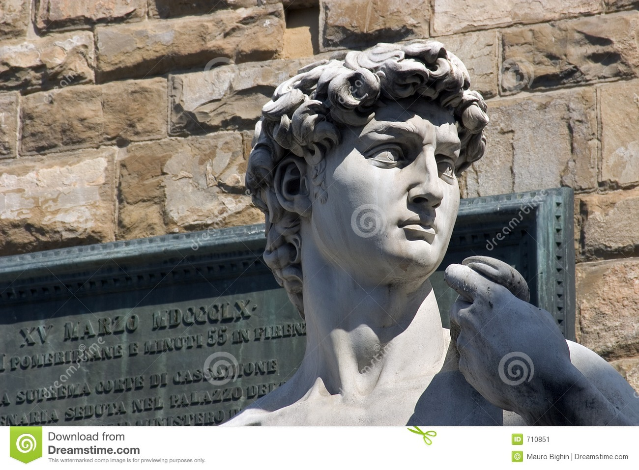 David del Michelangelo Firenze - in Italia