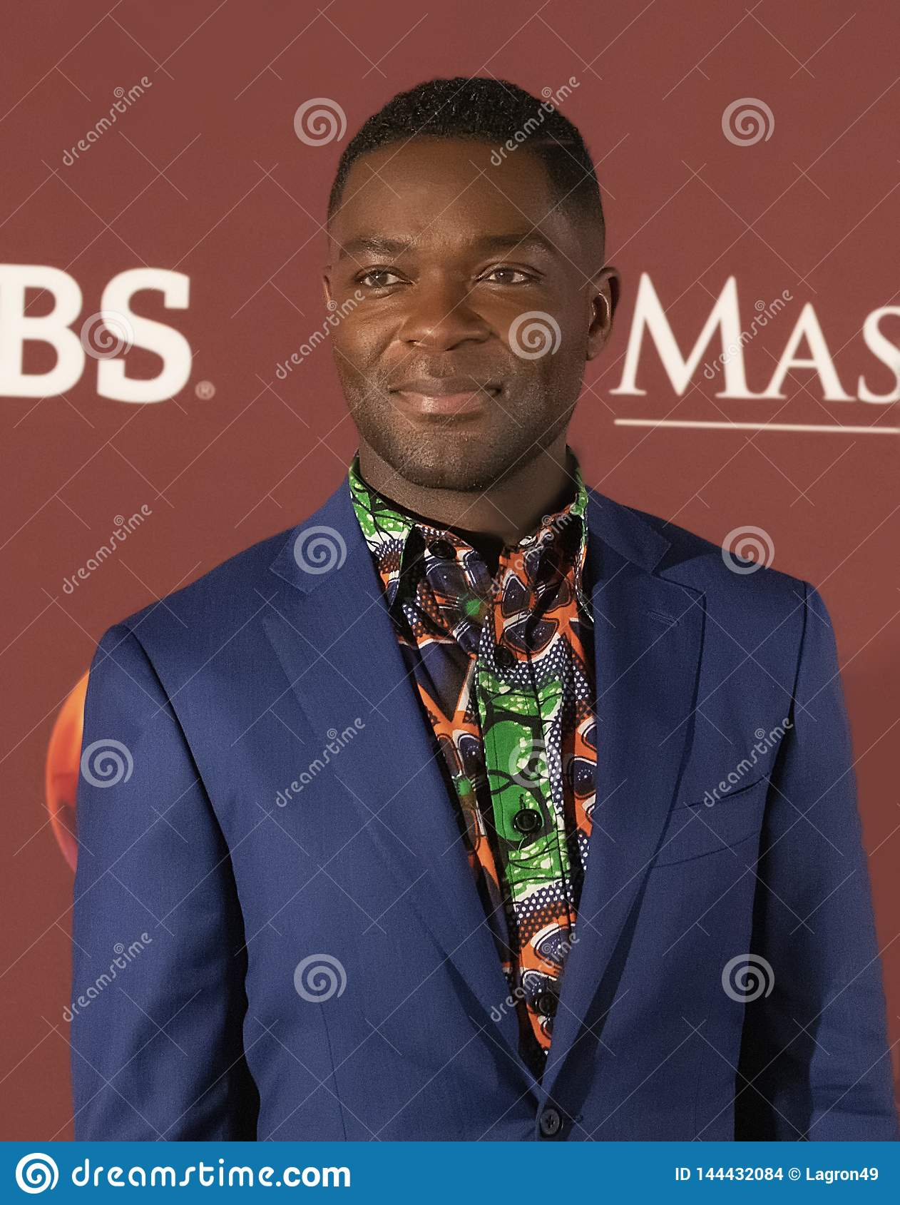 David Oyelowo at the New York Premiere of Les Miserables on Masterpiece on PBS