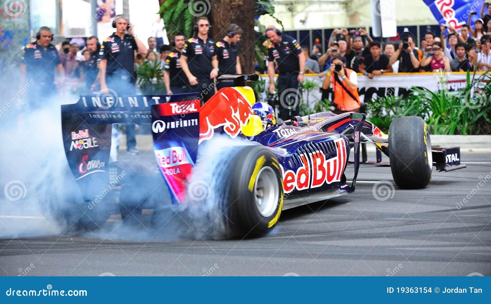 David que faz neutralizações em Red Bull que compete o carro F1