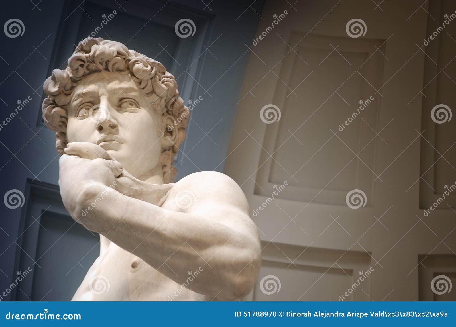 David sculpture bust
