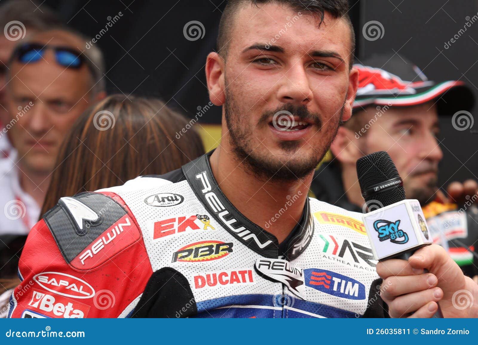 Davide Giuliano - Ducati 1098R - Althea Racing
